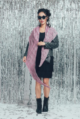 Celebration Shawl by Ruth Garcia-Alcantud from knitscene Winter 2016