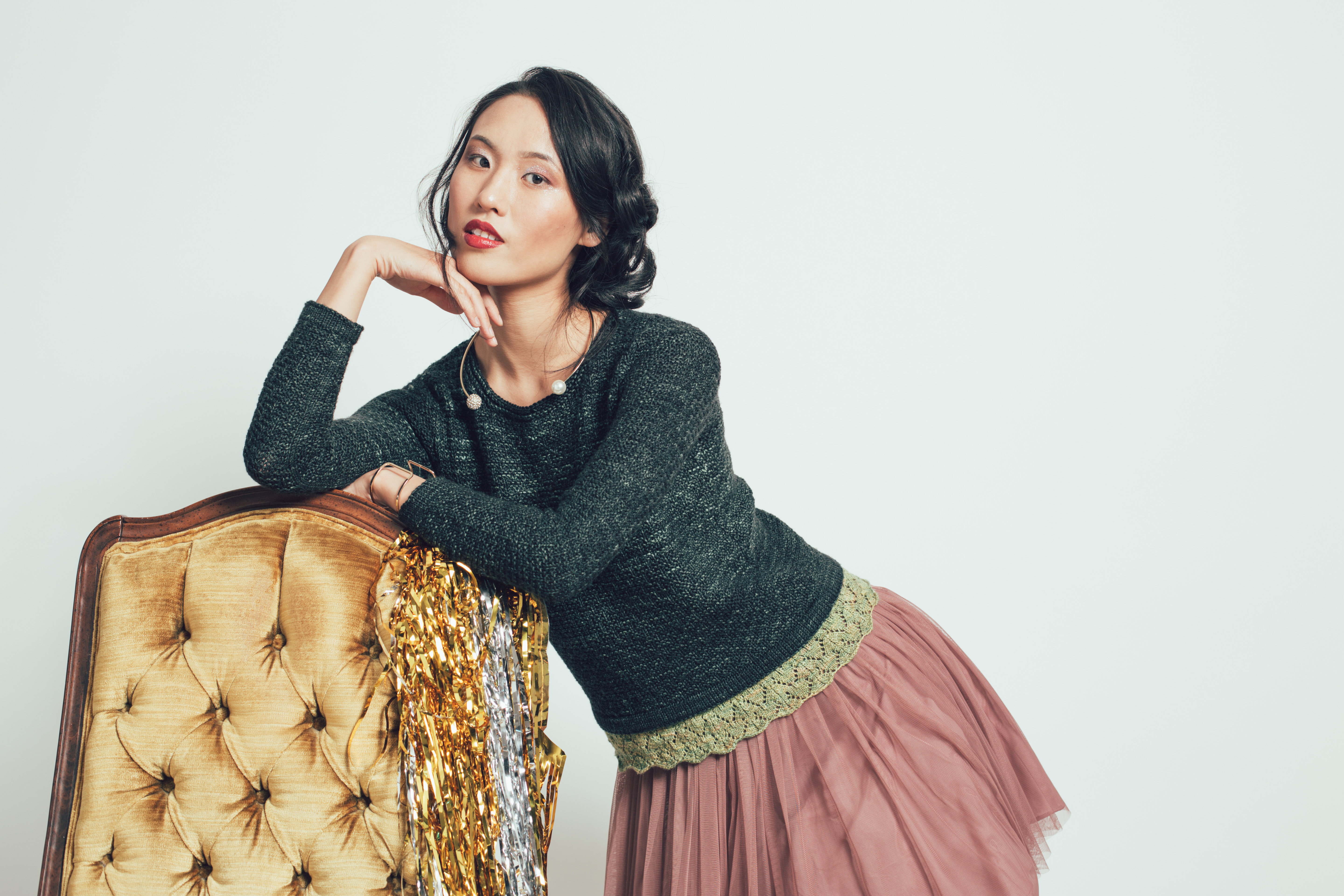 Revelry Sweater knitting pattern by Brandy Velten from knitscene Winter 2016