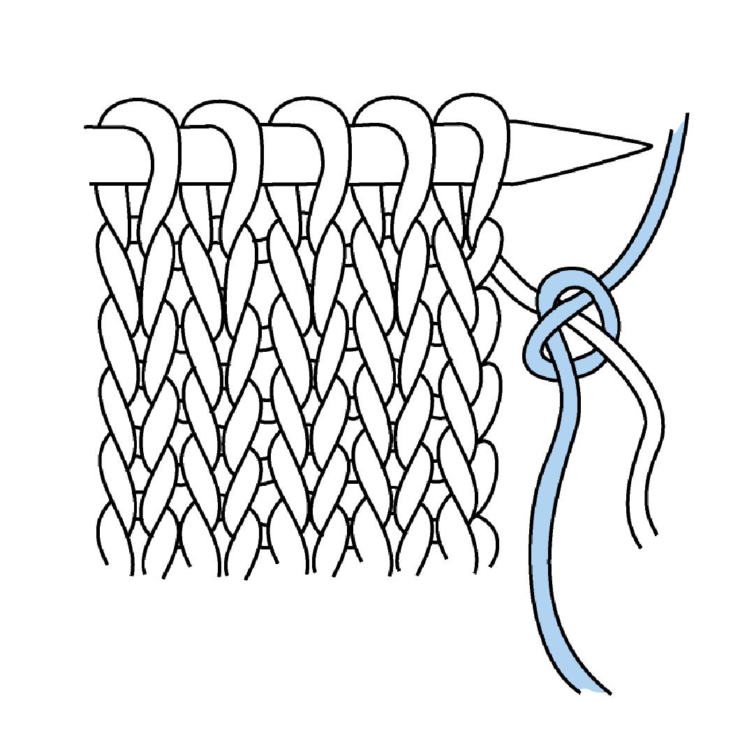 knit stripes
