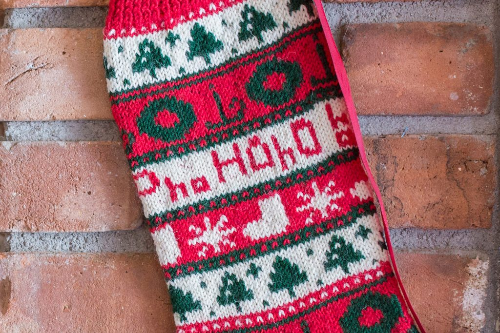 Ho! Ho! Ho! Christmas Stocking