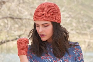 Knotty Waves Hat