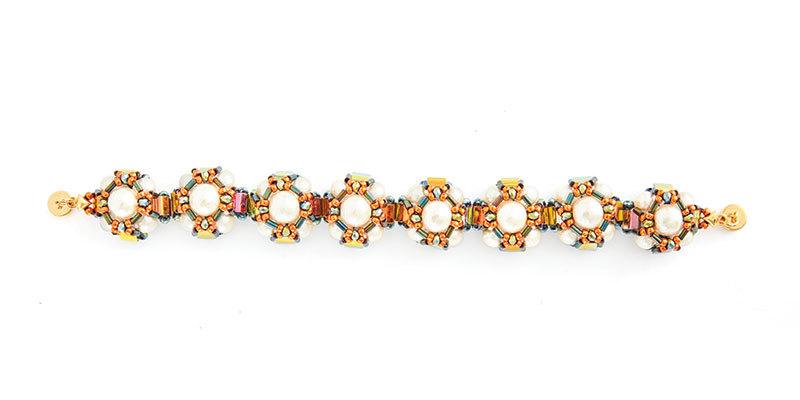 Lisa Krupp Dooley's Pearly Peaks Bracelet