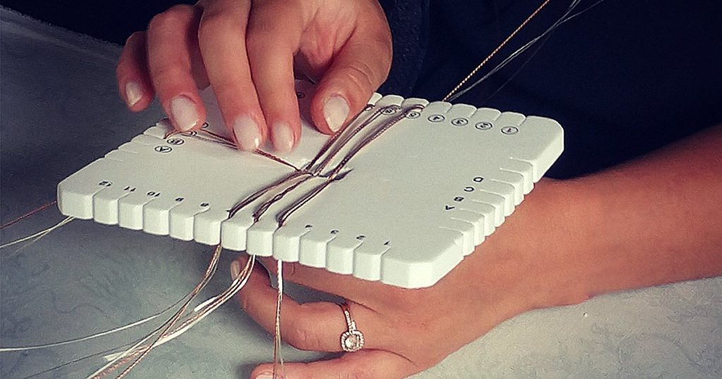 Lights! Camera! Braid! Making the <i>Kumihimo Wirework Made Easy</i> Promotional Video
