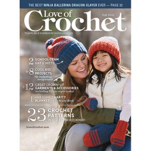 Cover of Love of Crochet Fall 2016
