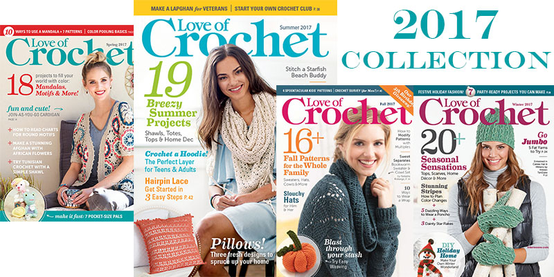 The Most-Loved Patterns from Love of Crochet!
