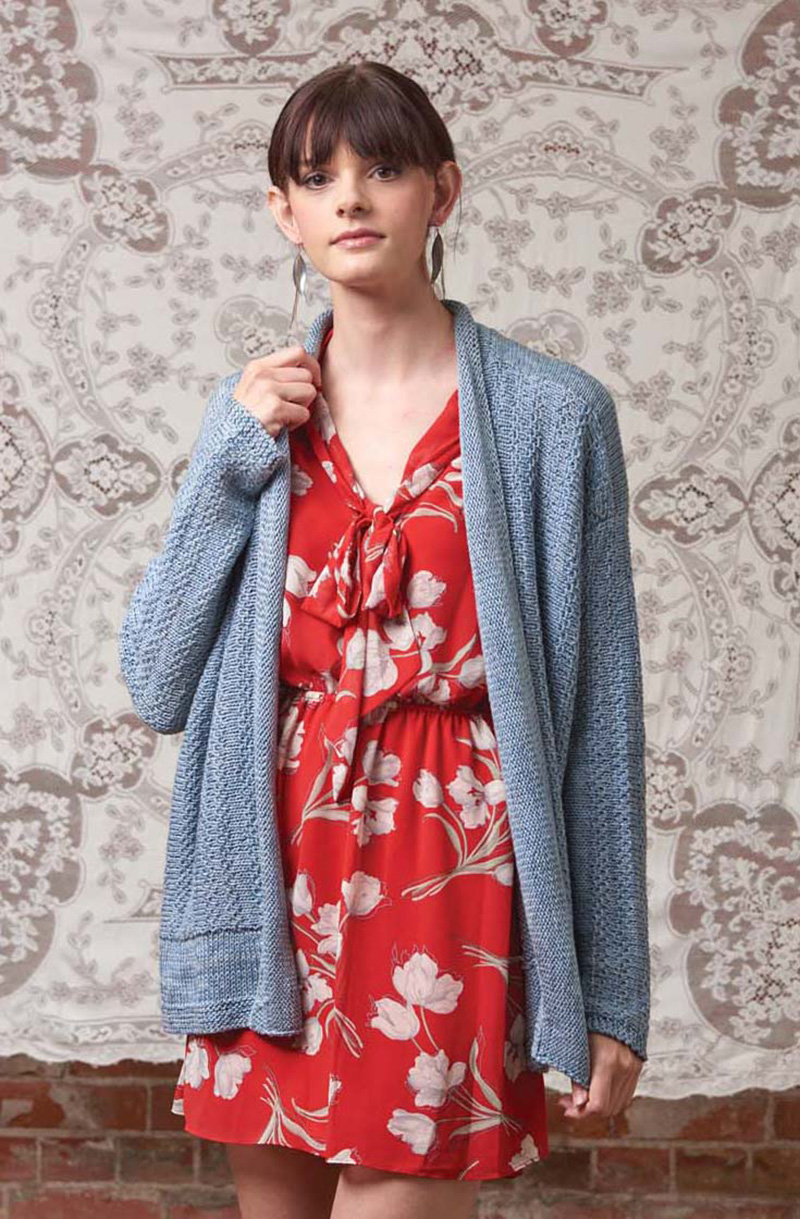 Platinum Jacket in Love of Knitting, Spring 2016