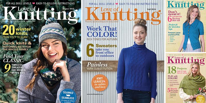 Love of Knitting's Beautiful Year