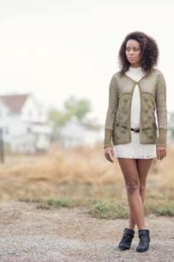 Lace Cardi Crochet Pattern