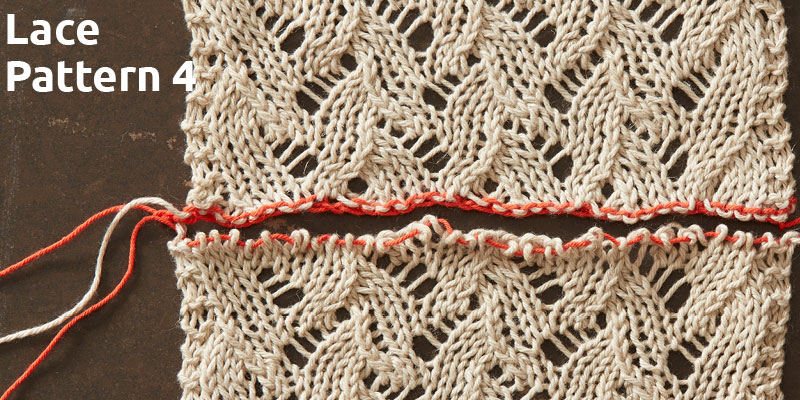 An Education in Lace Grafting: Lace Pattern 4