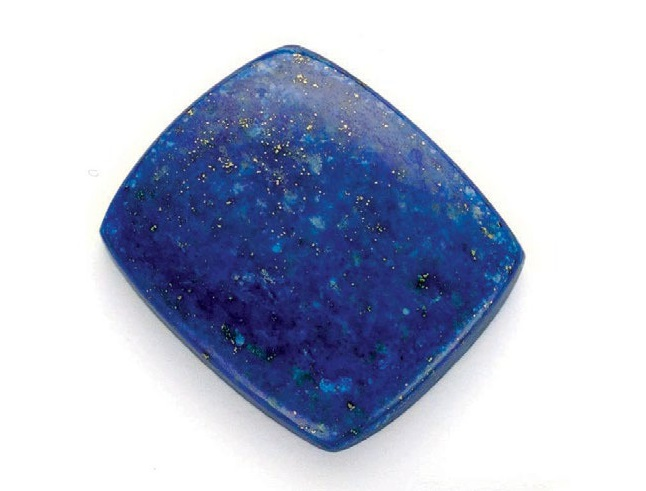 Lapis lazuli Courtesy: Dikra Gems PHOTO: JIM LAWSON