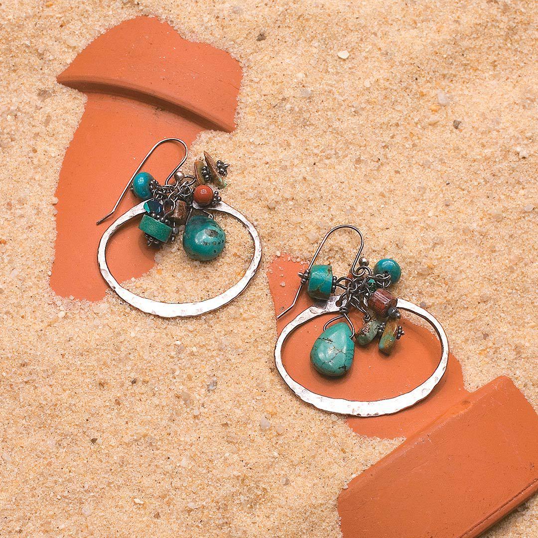 Linda Larsen's Southwest Boho Earrings