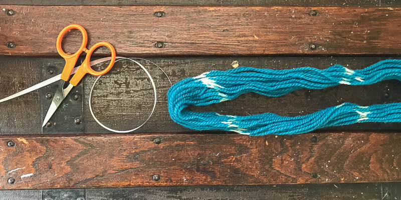 Roving Reporter: Dyeing Flammegarn for Socks with a Twist