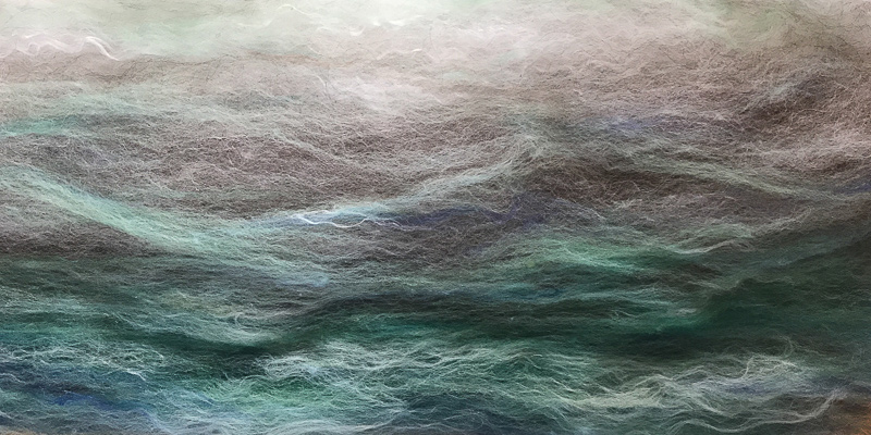 Roving Reporter: Carding Leftovers for Colorful Gradient Batts