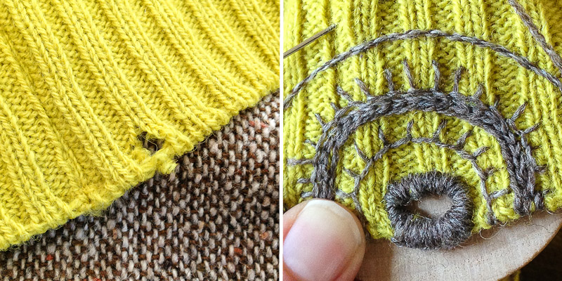 Roving Reporter: Mending the Year: 3 Tips for Darning Well