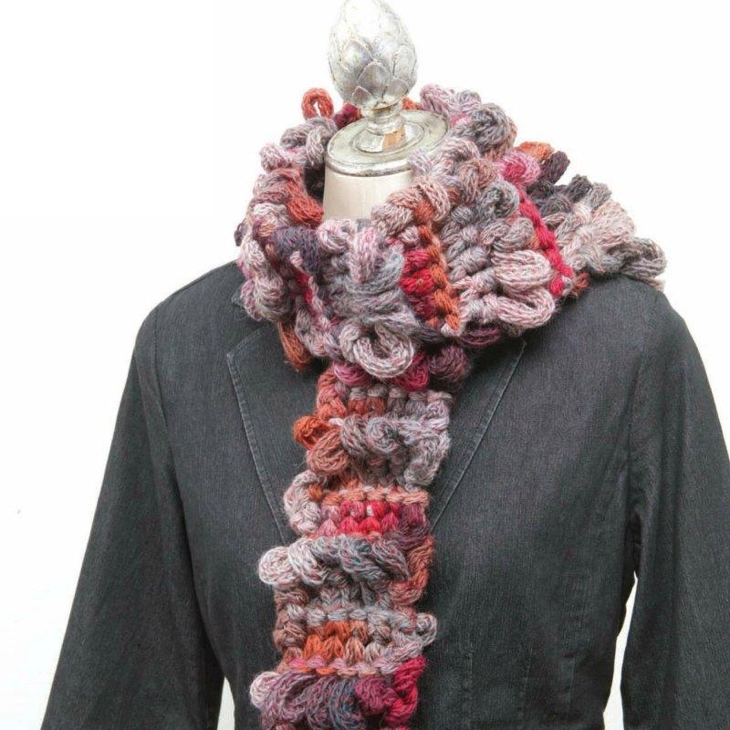 Last Minute Loops Scarf Free Knitting Pattern Interweave