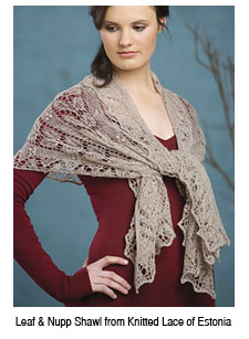 Lace Knitting Video Tip From Nancy Bush | Interweave