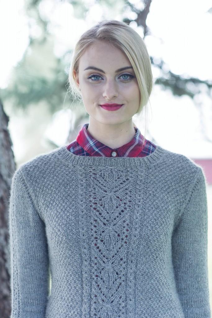 Quenna Lee MacGowan Pullover knit sweater pattern