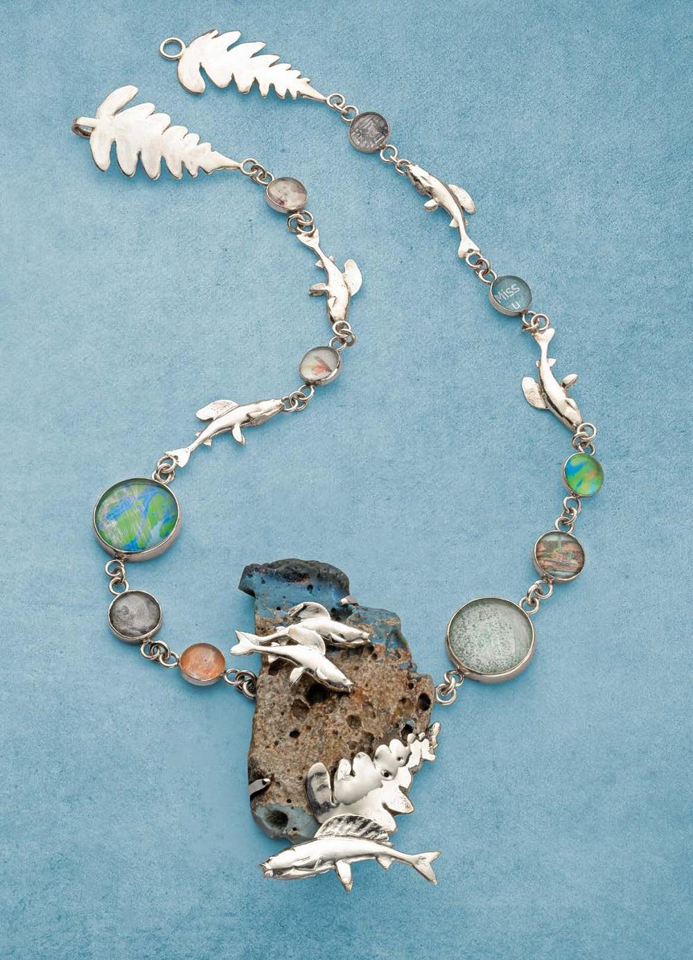 leland blue necklace by Betsy Lehndorff