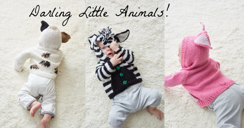 5 Animal-Baby Sweater Patterns for Your Little Animals