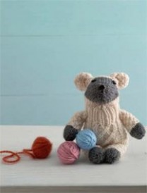Learn how to knit toys with this Little Lamb Sock Critter pattern found in our FREE eBook that contains 5 knitted toy patterns.