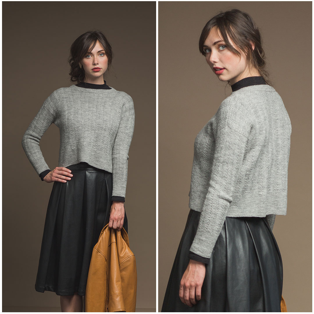 The Lucca Pullover by Cheryl Toy from Wool Studio Vol. V | Photos by Harper Point Photography