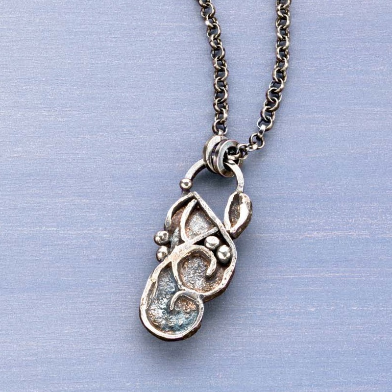 Fusing Sterling Silver Wire and Sheet in Orchestrated Spontaneity by Linda Lurcott