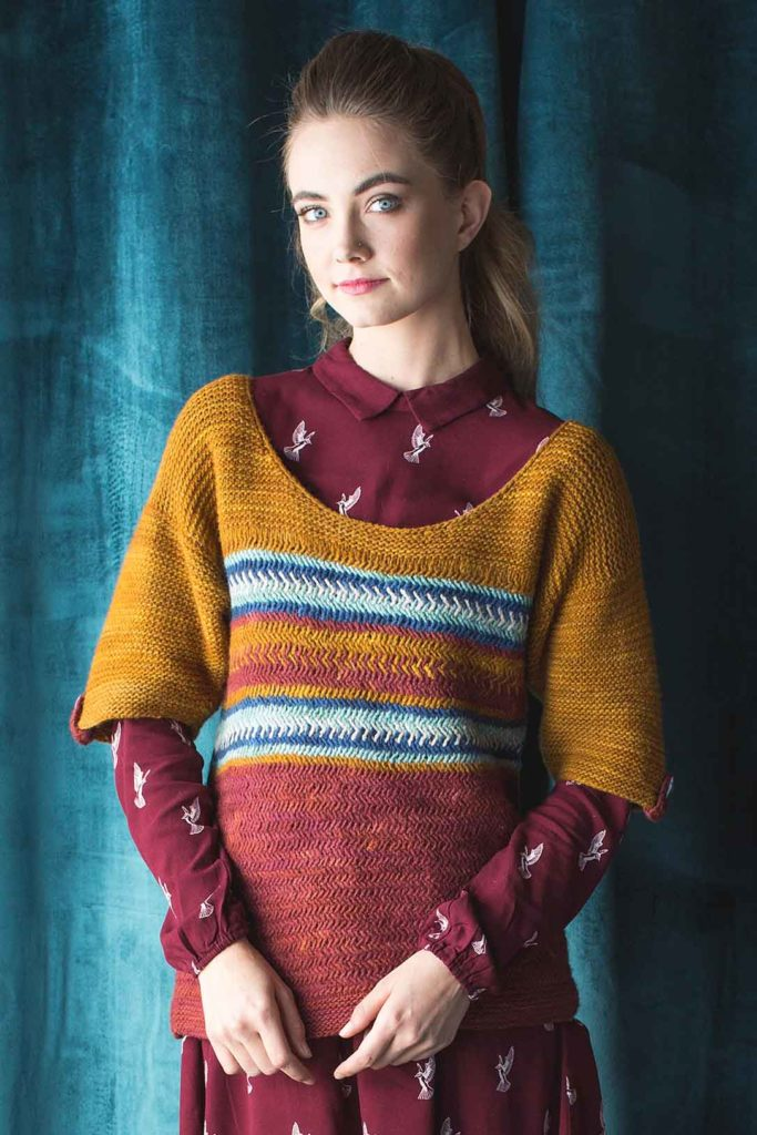 Have you tried the herringbone stitch? The Margot Top is a lovely example of what can be done with herringbone!