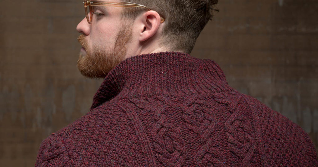 <em>Interweave Knits</em> Fall 2018: Mt. Auburn Cardigan