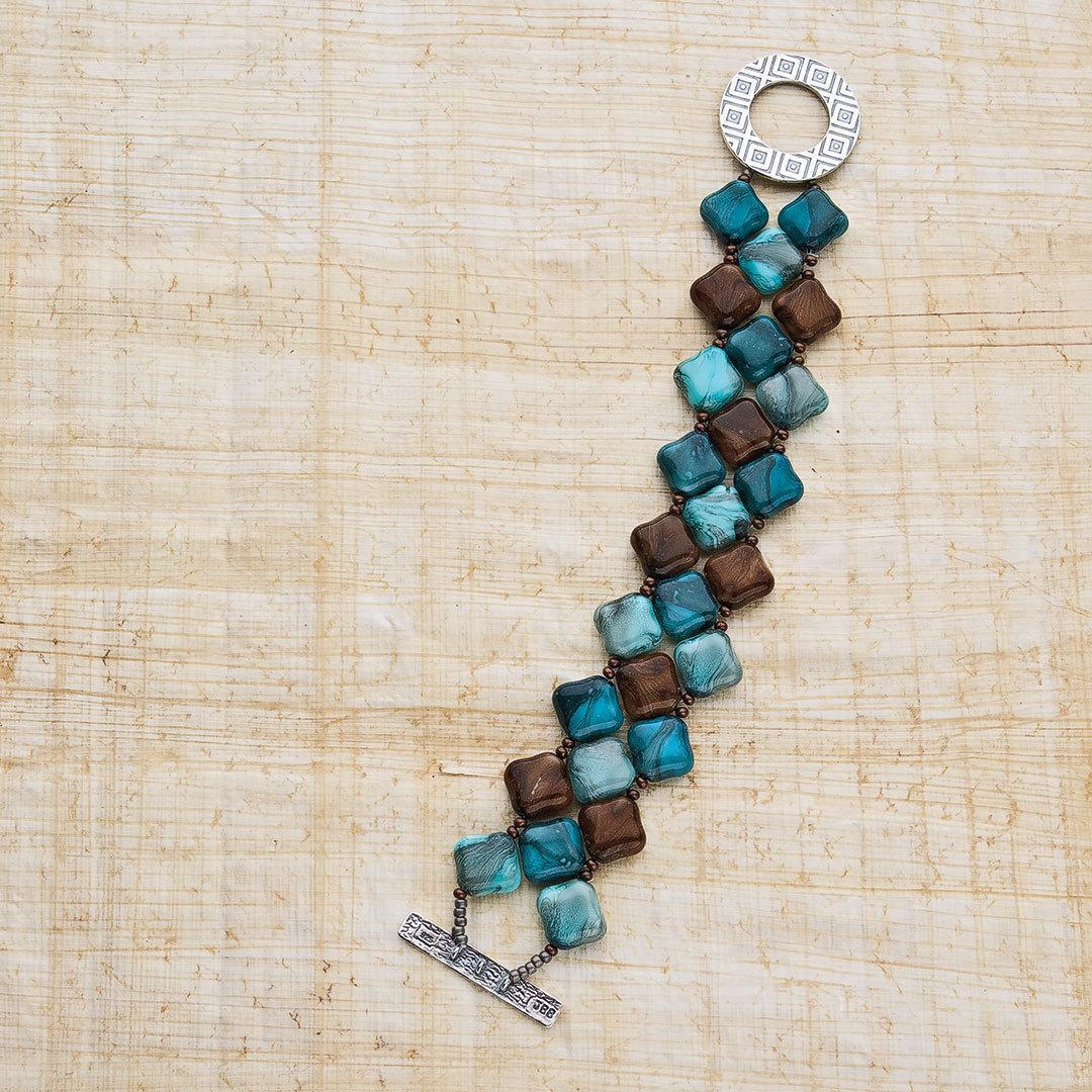 Michelle Mach's Four Corners Bracelet beaded jewelry