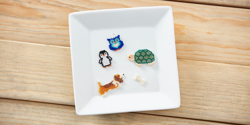 Learn How to Stitch Beaded Pets | Interweave