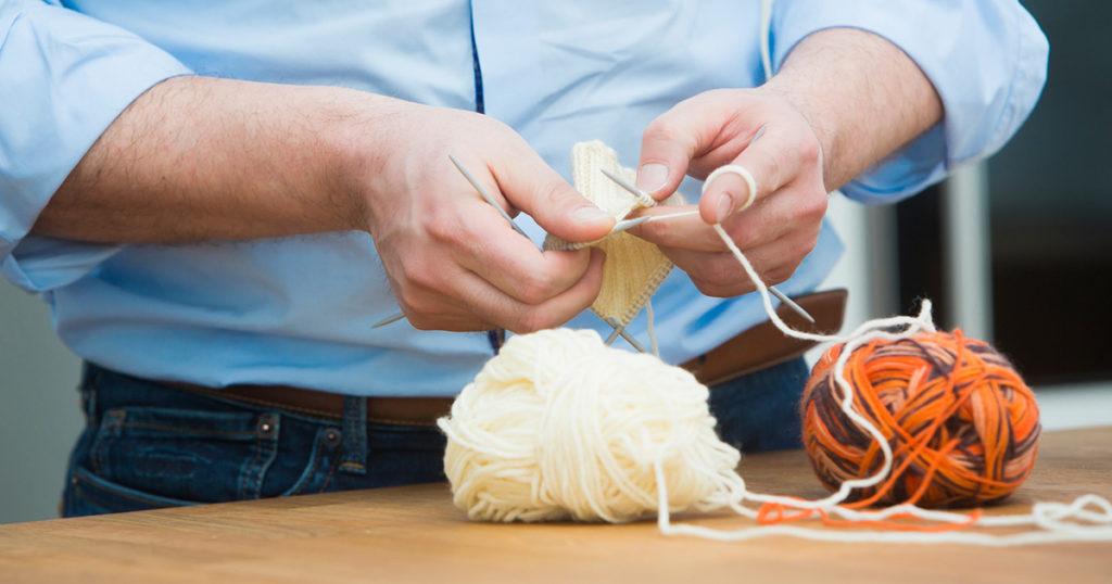 Men Should Be Knitting – Right?