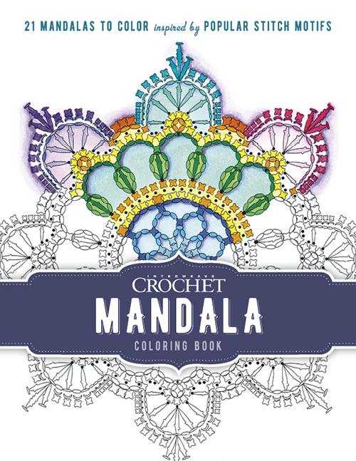 mandala coloring book crochet