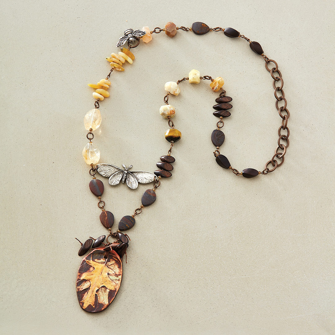 Nature Walk Necklace by Michelle McEnroe inspired by nature