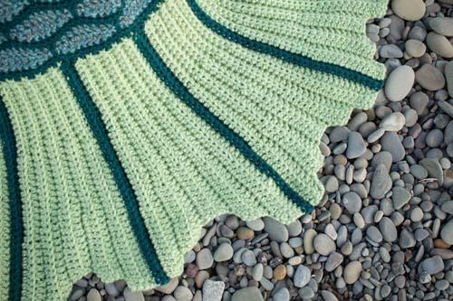 Mermaid Beach Blanket Tail