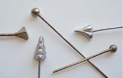 How To Make Metal Clay Headpins