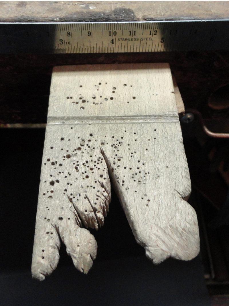 metalsmithing tools: Michael David Sturlin's bench pin