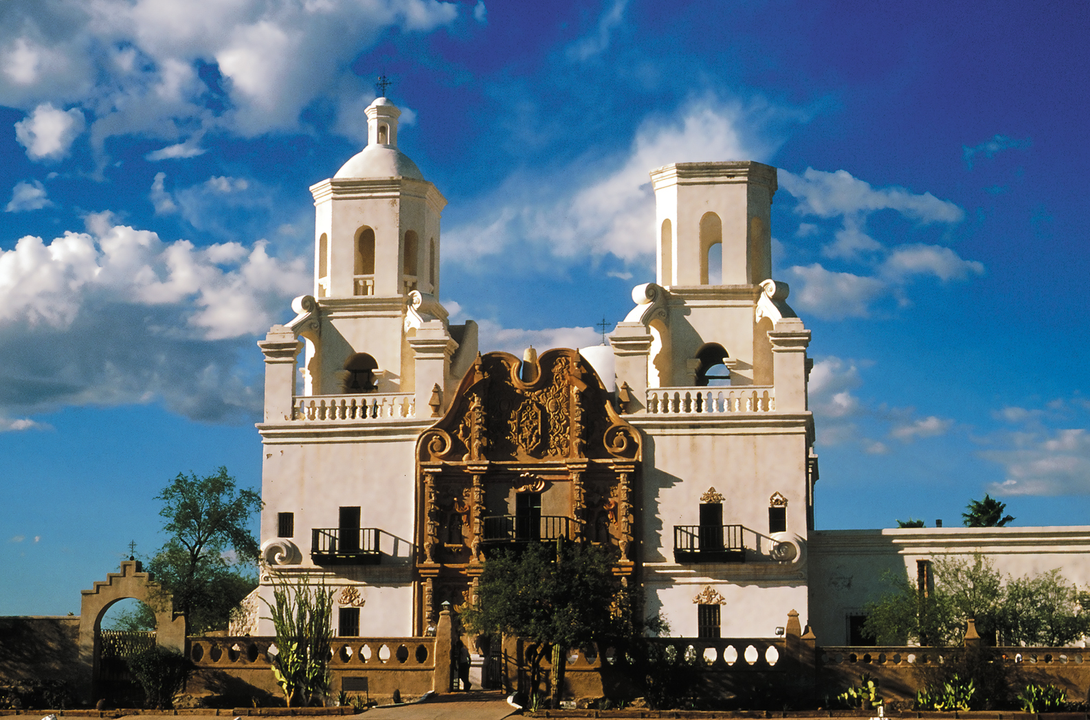 Mission San Xavier, courtesy of Visit Tucson