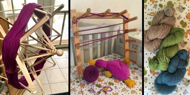 Weaving With a Baby