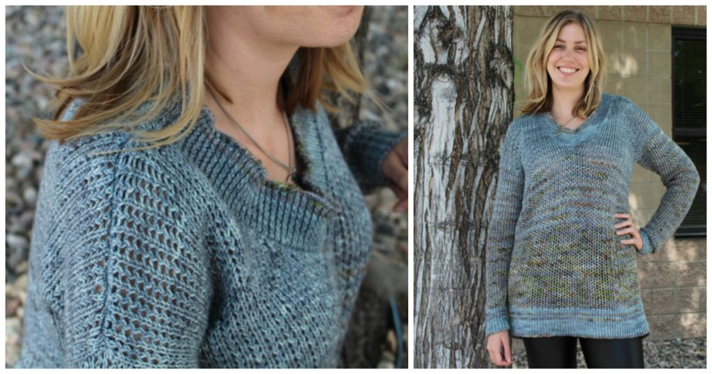The Murray Pullover is a great beginning sweater pattern by Norah Gaughan.
