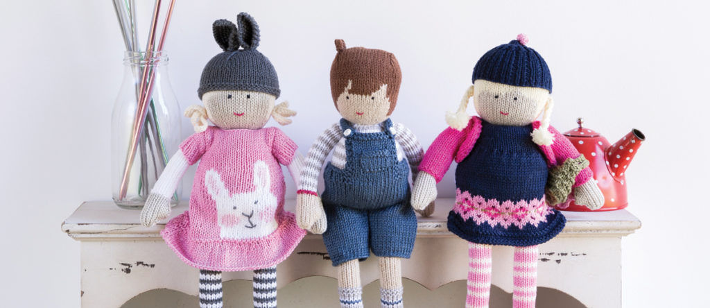 The Knit Doll: An Adorable Knitted Toy