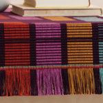 Broken Warp Threads Throughout Weaving