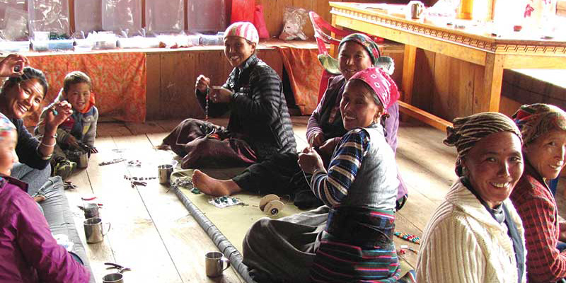 Bead Buzz: Nepalese Women Rebuild Their Village with Jewelry Making, One Bead at a Time