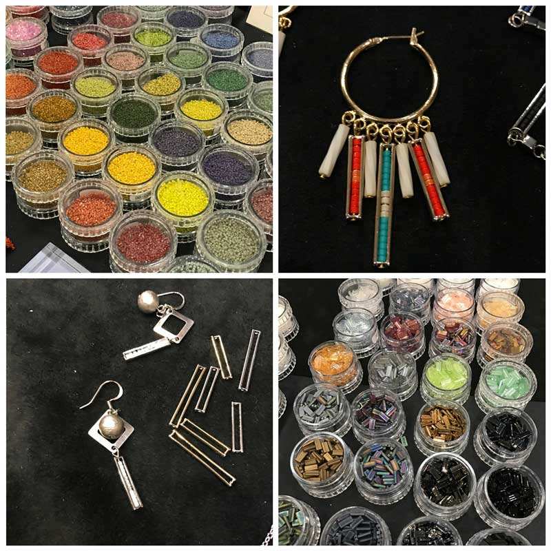Jewelry-Making and Beading Supplies, Fun Finds, and Adventures From the Road. New beads and findings by Miyuki - new Delica colors, new Delica size 15 seed beads, and Delica bead frames.