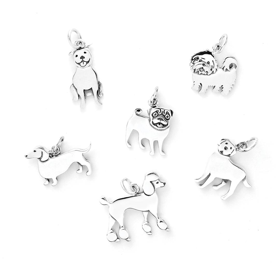 Nina Designs dog charms beading supplies