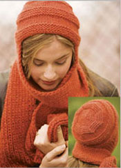 Nomad Hat and Scarf