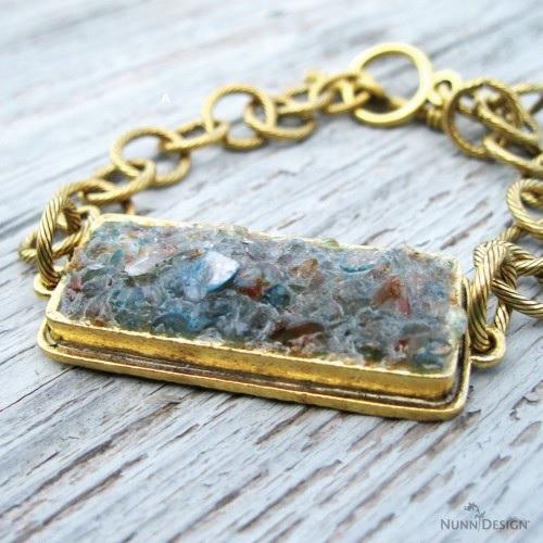 how to use broken gemstones in bezels Nunn Design