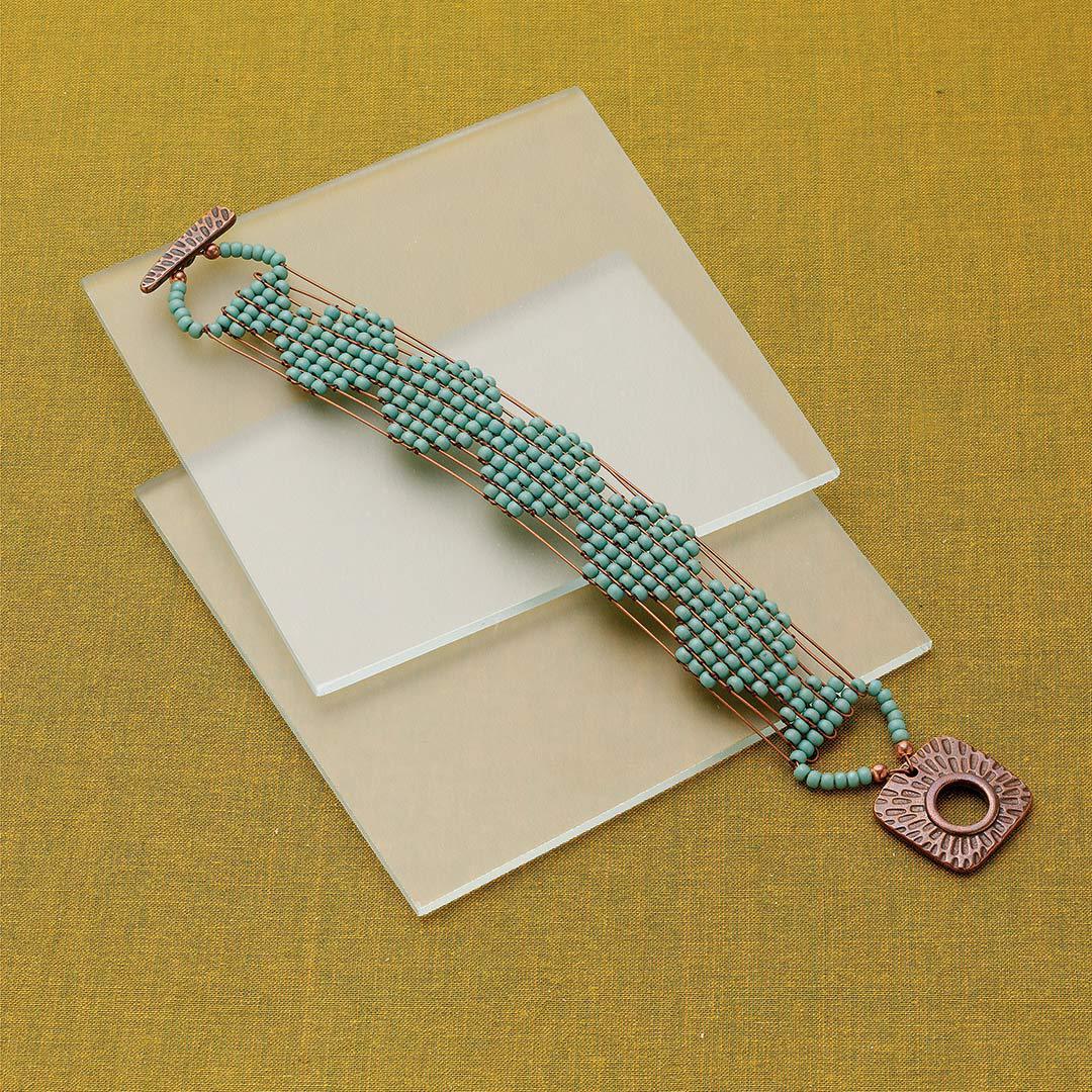 Sara Oehler's Sonoran Desert Bracelet beaded jewelry