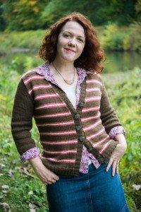 Options KAL Cardigan knitting pattern