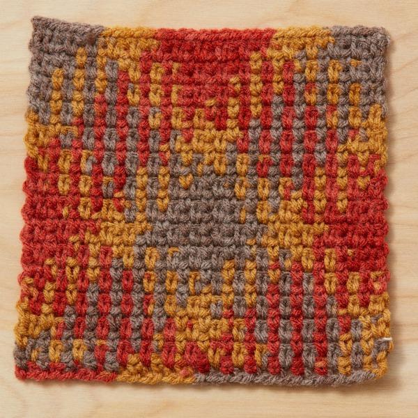 color pooling crochet