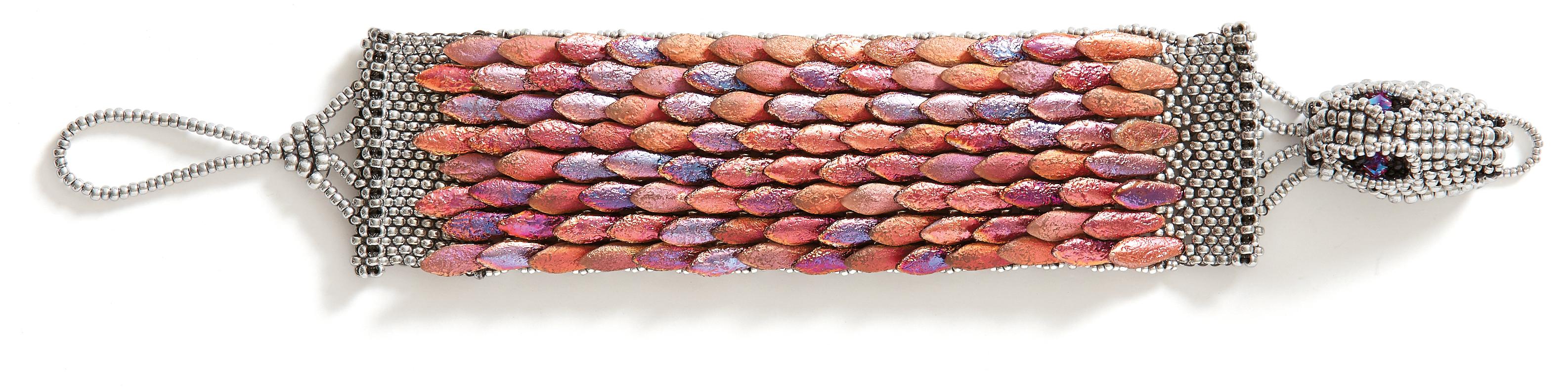 Ouroboros Dragon Cuff Main Colorway